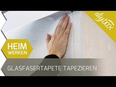 Glasfasertapeten anbringen und entfernen